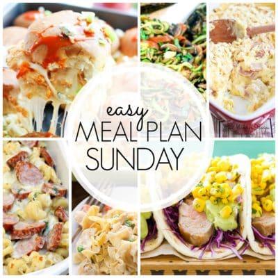 Easy Meal Plan Sunday {Week 56}