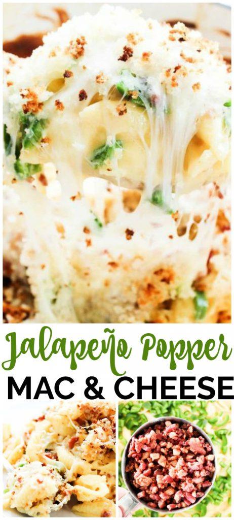Jalapeno Popper Mac & Cheese pinterest image
