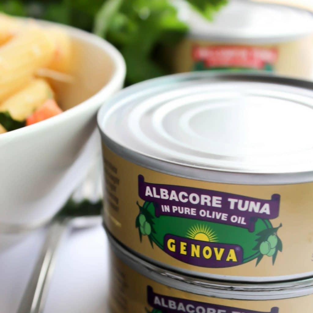 Seafood Margherita Pasta TUNA