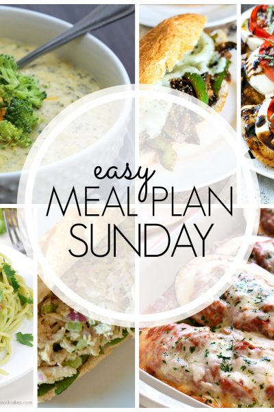 Easy Meal Plan Sunday {Week 61}