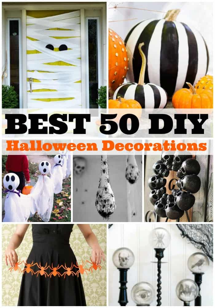 Best 50 Diy Halloween Decorations A Dash Of Sanity