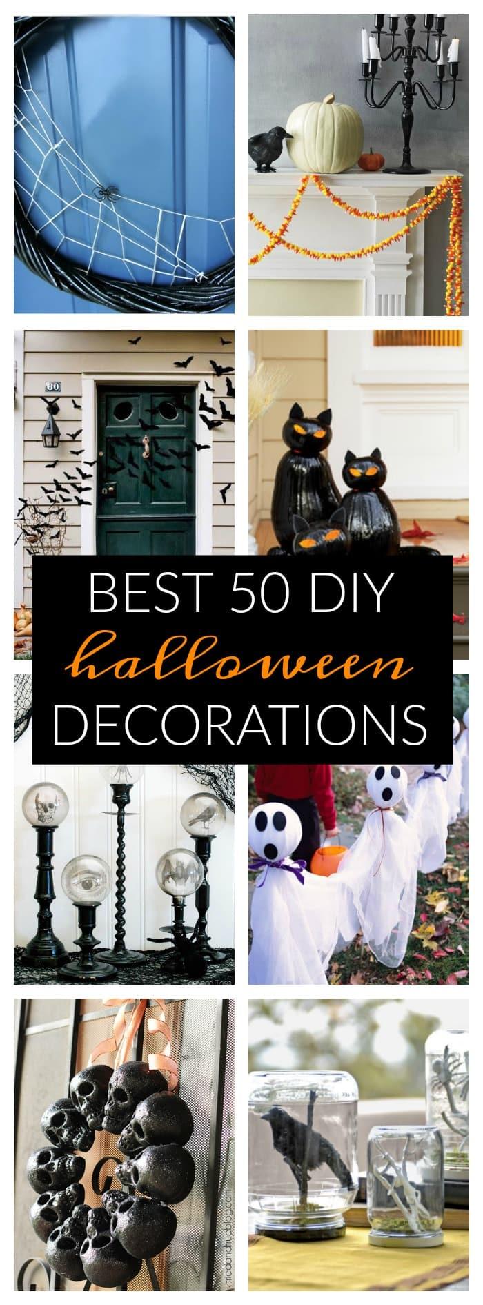 Best 50 DIY Halloween Decorations  A Dash of Sanity - Best Halloween Stuff