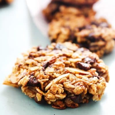 Pumpkin Oat Breakfast Cookies