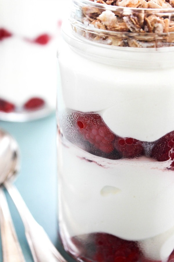 Sweet Quark & Berry Parfait is a classic German dessert shared by my friend Tanya today. You will love the perfect combination of flavors. Sweet Quark & Berry Parfait CLOSE UP