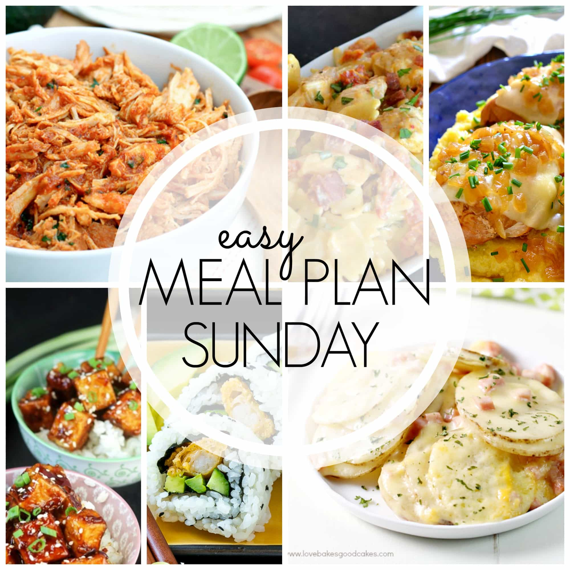 easy meal plan sunday week 63 love bakes good cakes