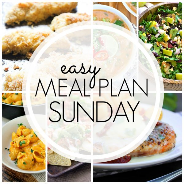 Easy Meal Plan Sunday {Week 66}