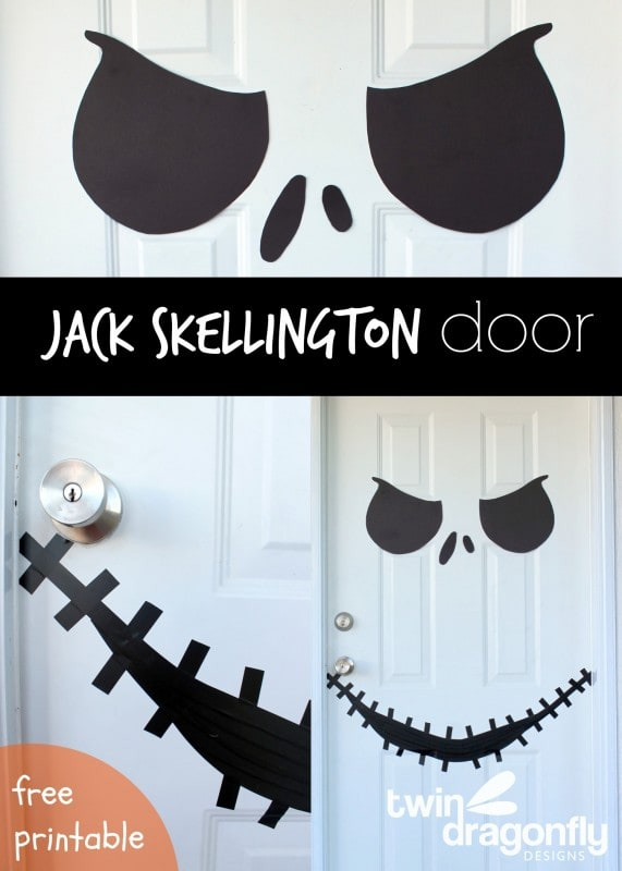 Best 50 diy halloween decorations a dash of sanity - Jack skellington decorations halloween ...