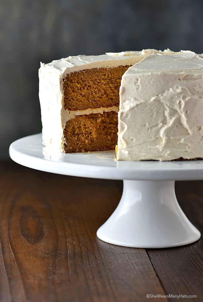 Southern Sweet Potato Cake Cinnamon Honey Buttercream Frosting