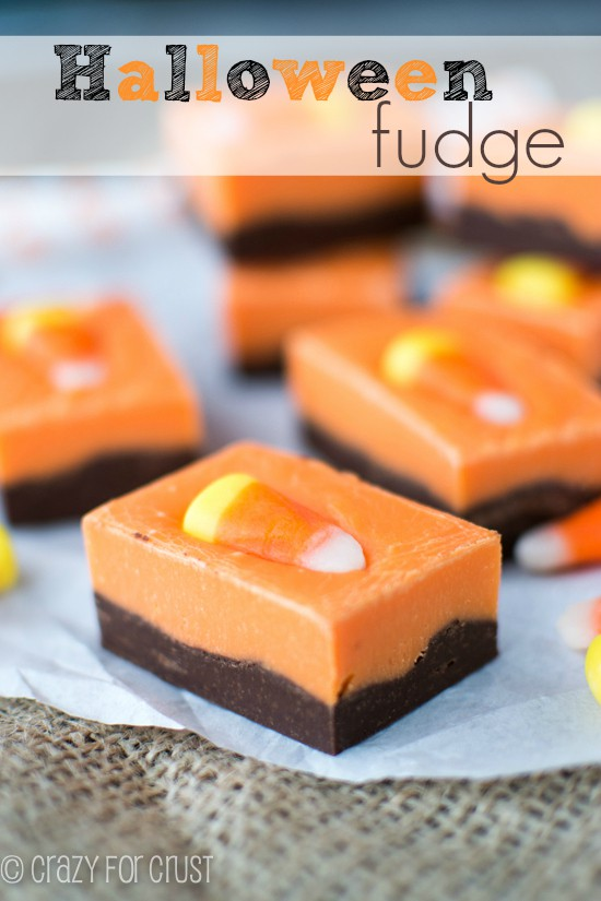 halloween fudge.