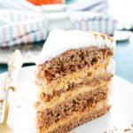 Pumpkin Spice Mousse Cake