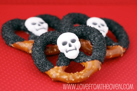 skeleton pretzels.