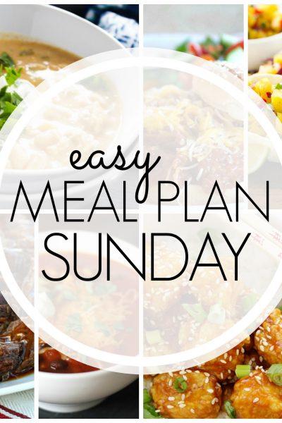 Easy Meal Plan Sunday {Week 70}