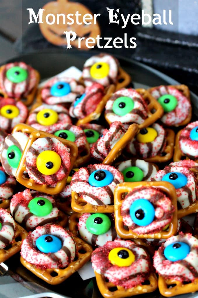 monster eyeballs.