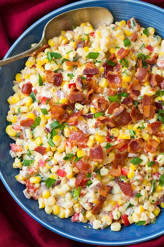 CREAMY CONFETTI CORN BACON