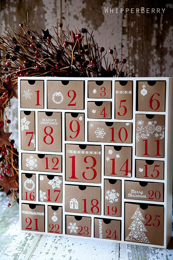 SILHOUETTE CAMEO ADVENT CALENDAR
