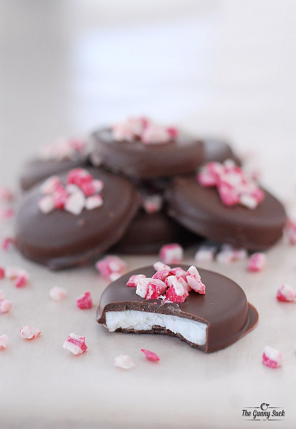 Peppermint Patties mint filling chocolate candy