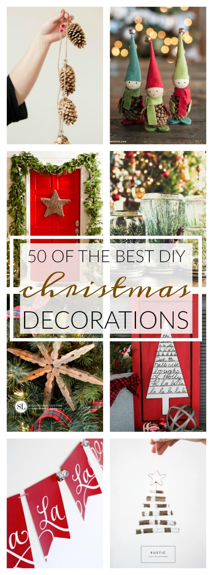 50 Of The Best Diy Christmas Decorations A Dash Of Sanity