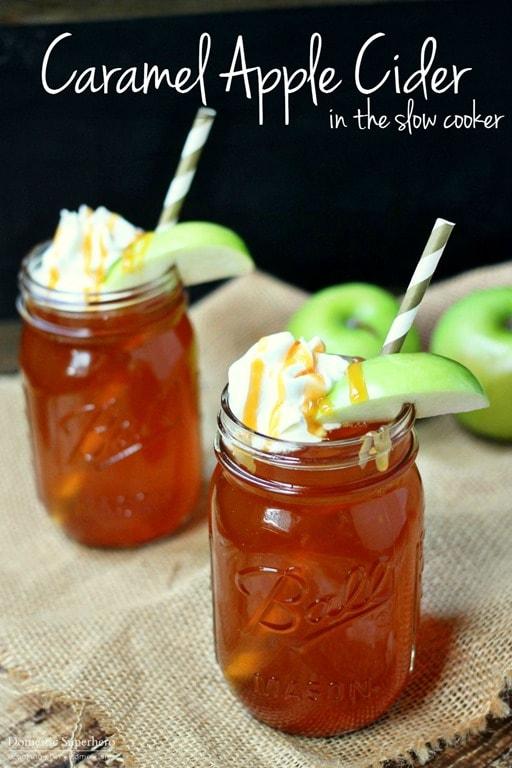 Slow Cooker Caramel Apple Cider