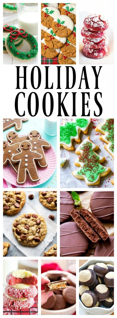 50 of the Best Holiday Cookies that need to be devoured this Christmas season. Bake up a batch or two and start spreading some holiday {cookie} cheer.