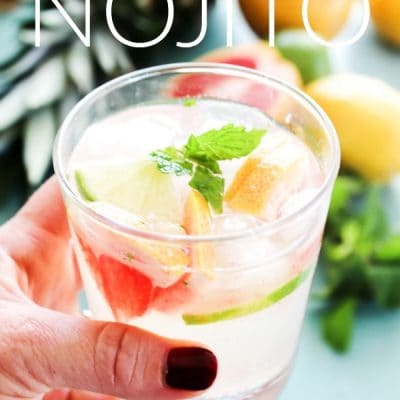 Ruby Princess Nojito {Mocktail}