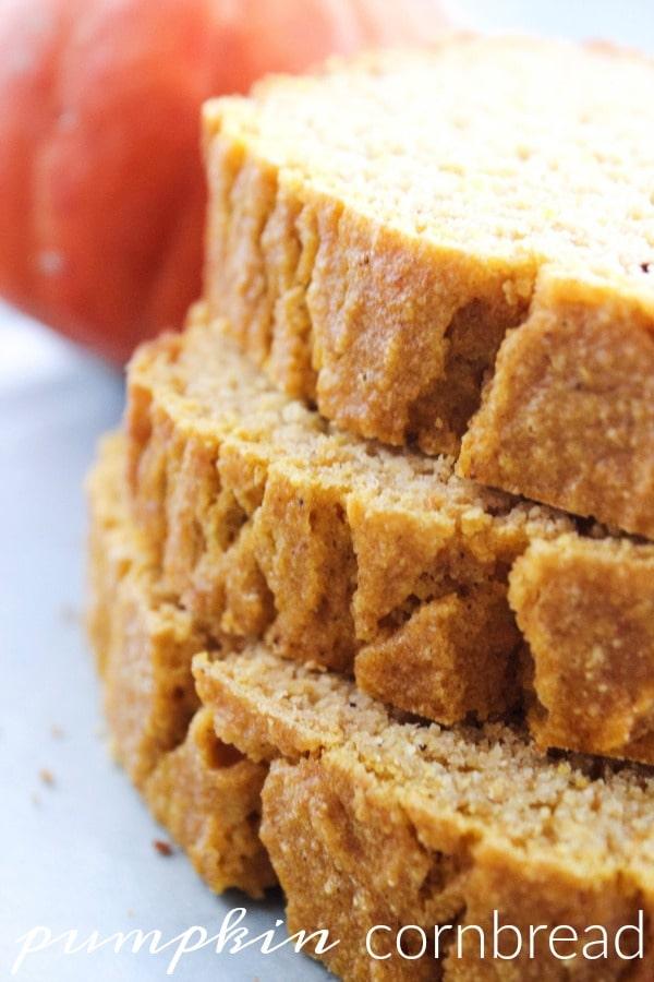 Pumpkin Cornbread - A Dash of Sanity