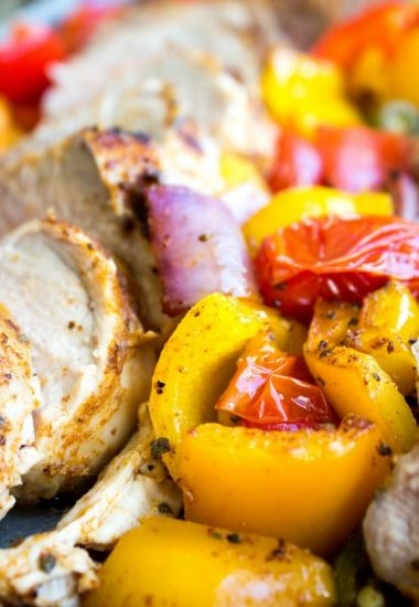 One Pan Southwestern Pork Tenderloin