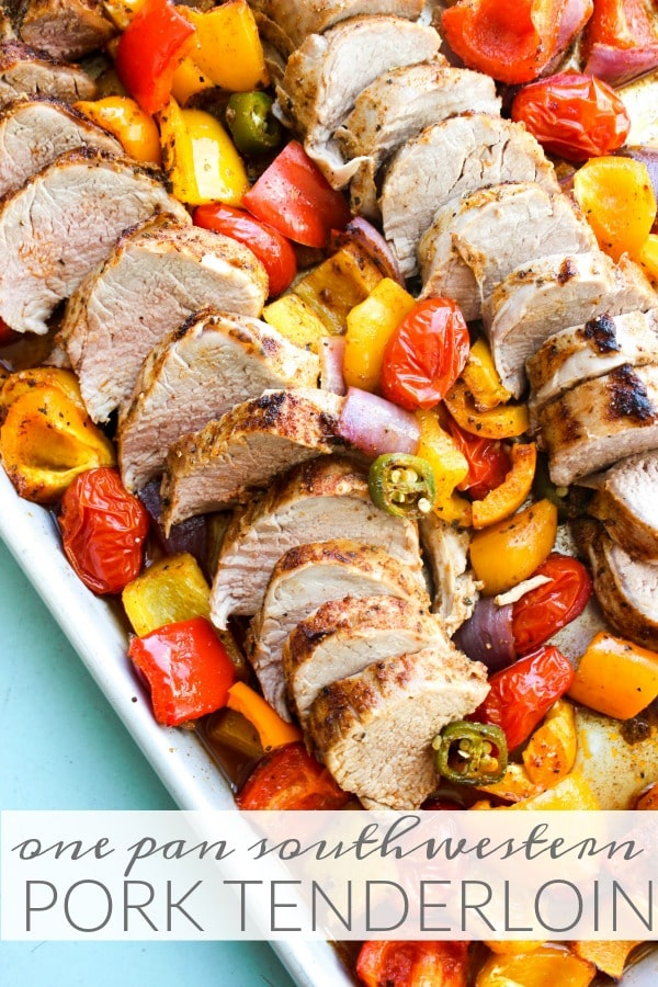 One-Pan Southwestern Pork Tenderloin