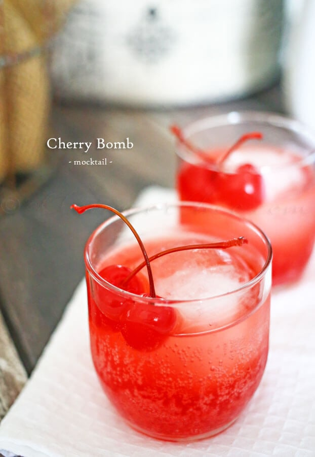 CHERRY BOMB MOCKTAIL