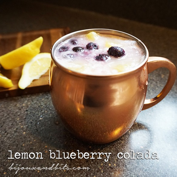 LEMON BLUEBERRY MOCKTAIL
