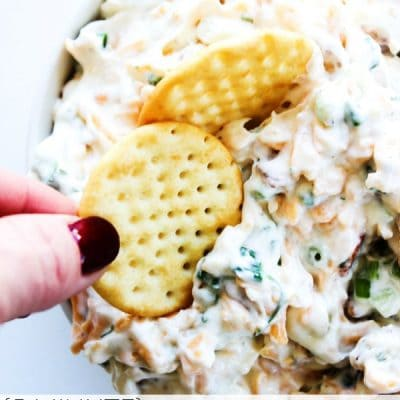 5 Minute Fully Loaded Ranch Dip