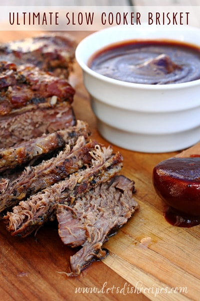 Ultimate Slow Cooker Brisket