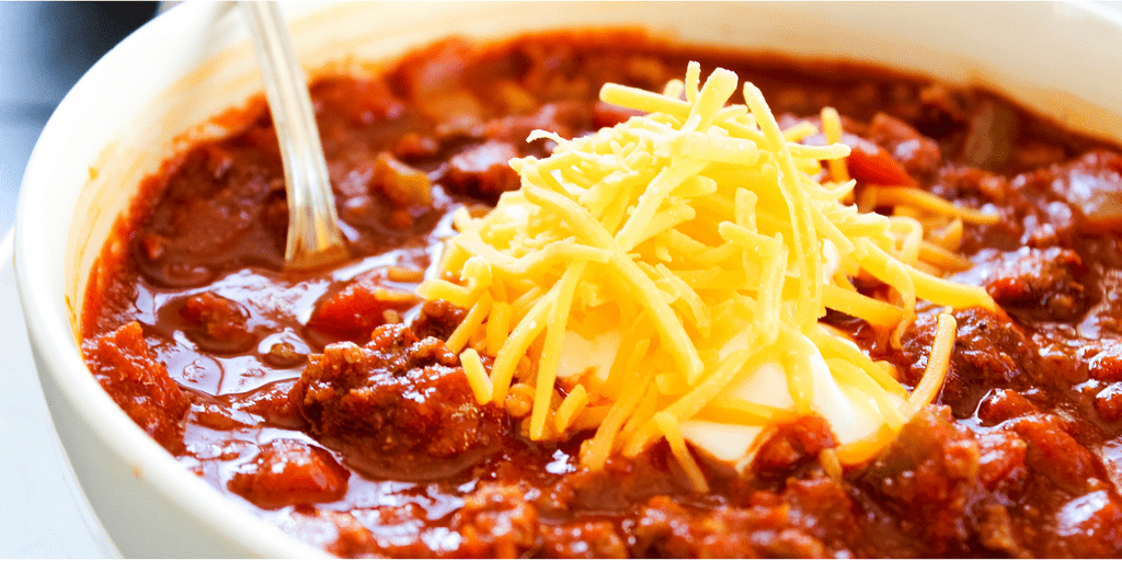 Classic Chili Con Carne a hearty chili made with beef, onions, salsa ...