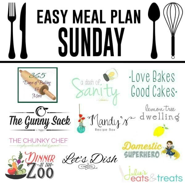 Easy Meal Plan Week   Lemon Tree Dwelling