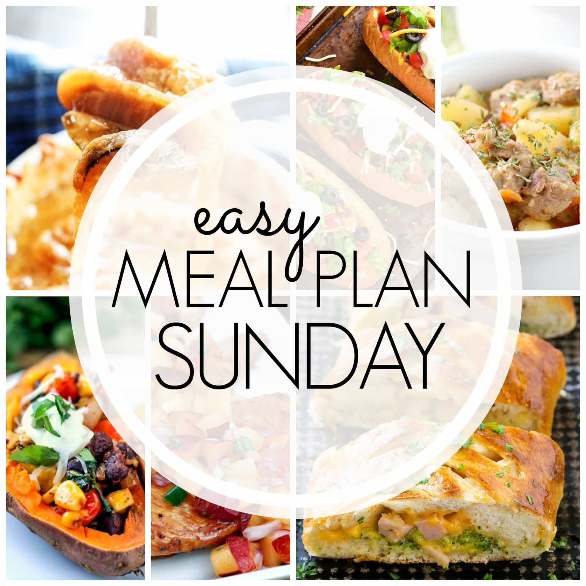 how to plan weekly meals for two