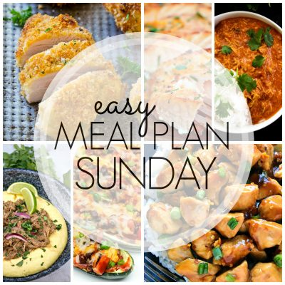 Easy Meal Plan Sunday {Week 80}