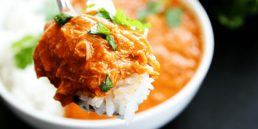 Healthy Slow Cooker Chicken Tikka Masala