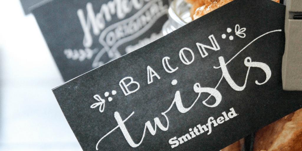 Crispy Bacon Cinnamon Rolls Twists