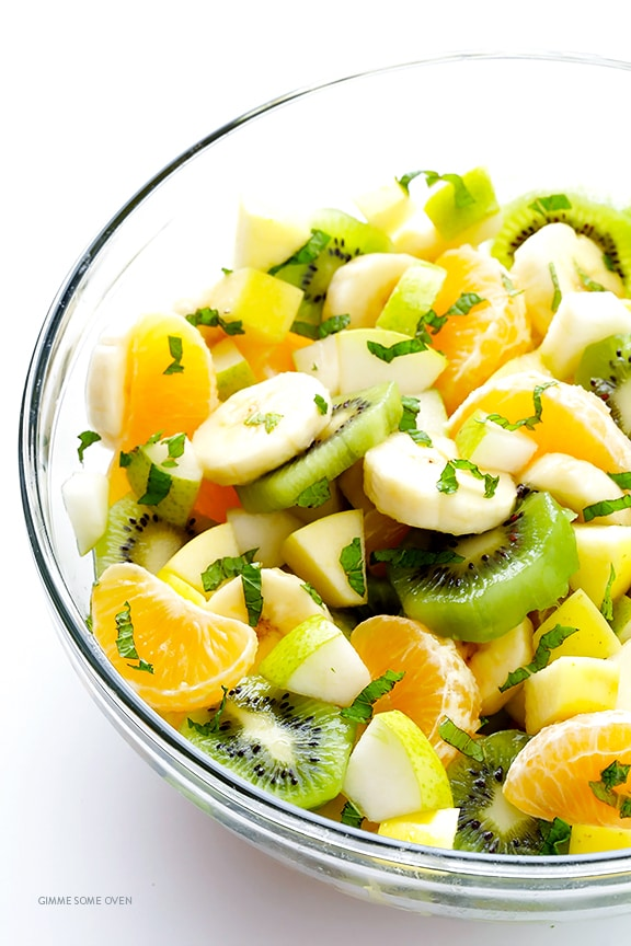 EASY WINTER FRUIT SALAD