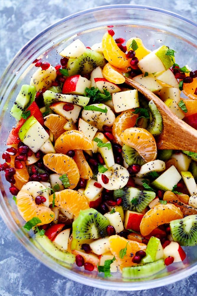 best winter fruit salad