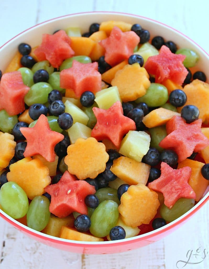 5-Ingredient Fresh Fruit Salad