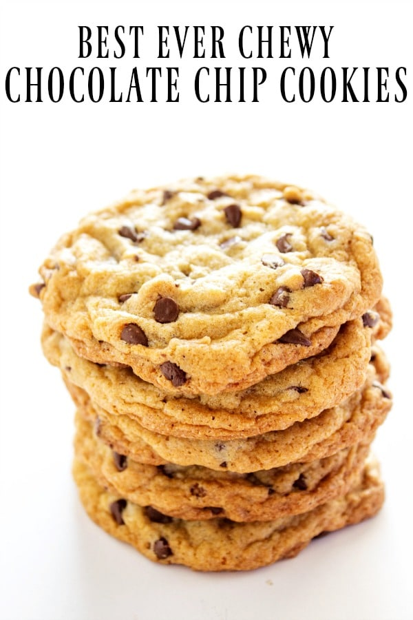 Best Ever Chewy Chocolate Chip Cookie