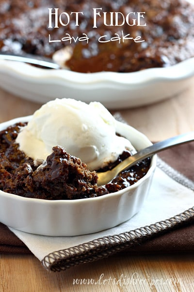 Hot Fudge Lava Cake
