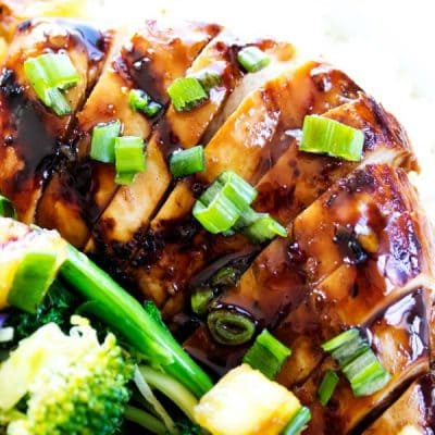 SWEET GINGER TERIYAKI CHICKEN