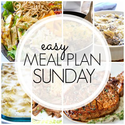 Easy Meal Plan {Week 84}