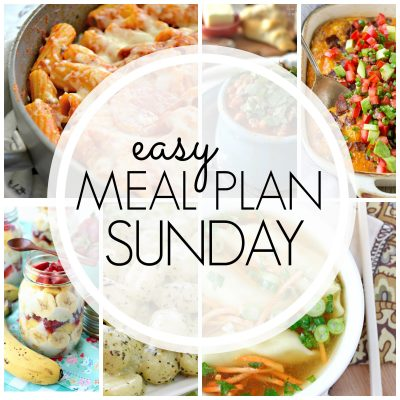 Easy Meal Plan Sunday {Week 86}