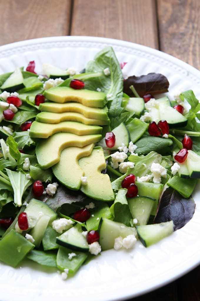 GREEN GODDESS WINTER SALAD