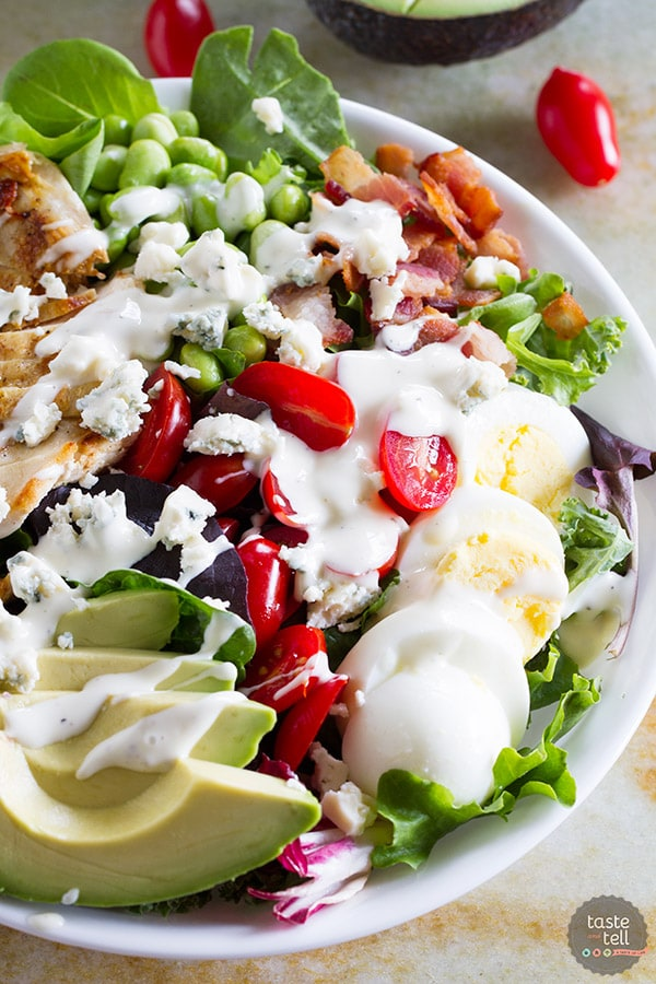 PROTEIN PACKED COBB SALAD RECIPE