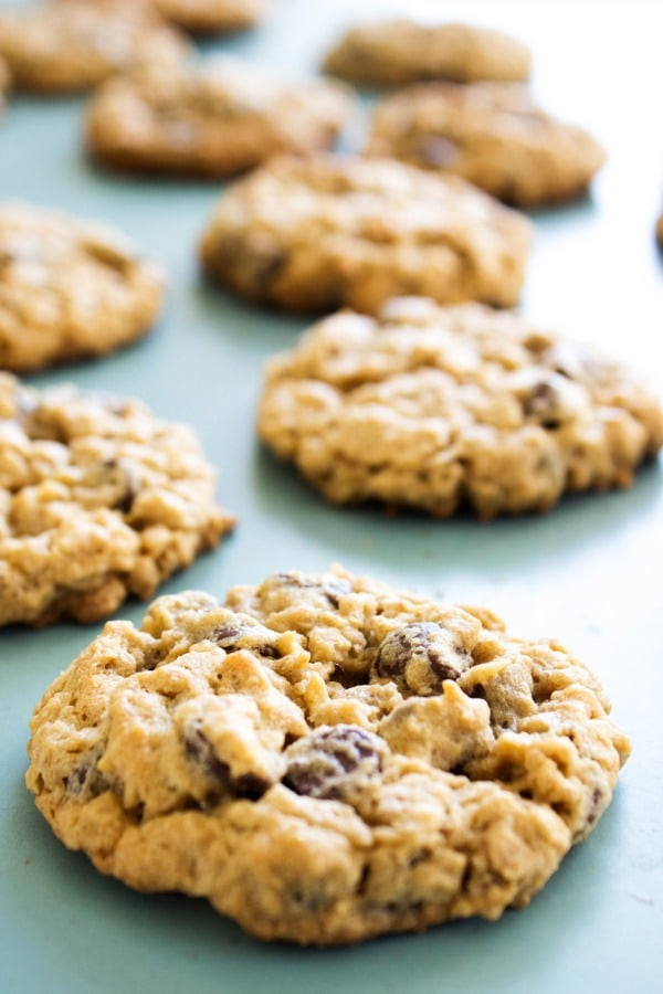 chewy-oatmeal-peanut-butter-chocolate-chip-cookies-view
