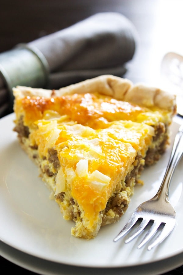Easy Sausage Breakfast Quiche