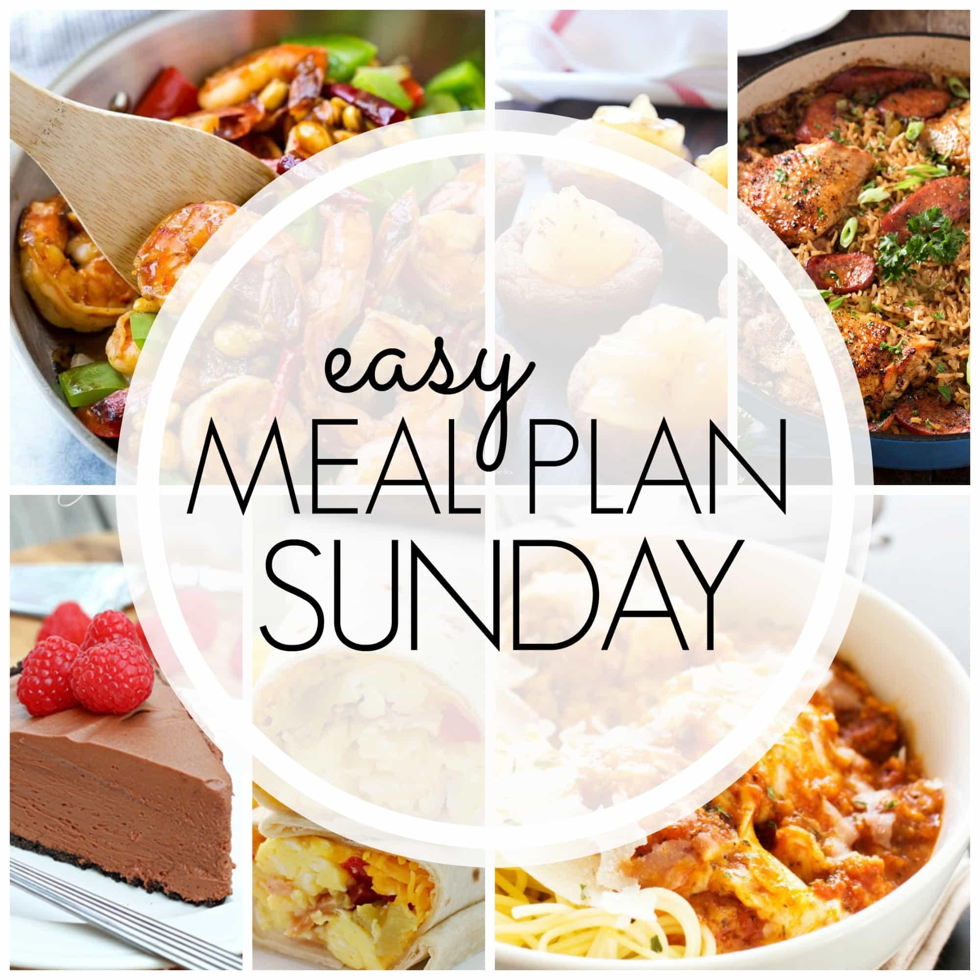 Easy Meal Plan Sunday {Week 88}